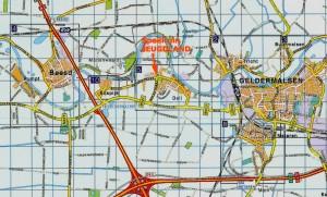 routebeschrijving foto wegenkaart